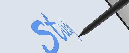 écran tactile précision d'écriture