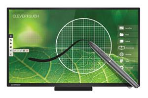 écran tactile capacitif et infrarouge haut de gamme professionnel CleverTouch E-Cap