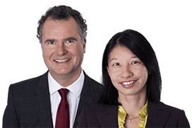 Photo of solicitors, Ben Power and Yeing-Lang Chong