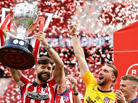 Atlético de Madrid - région La Côte