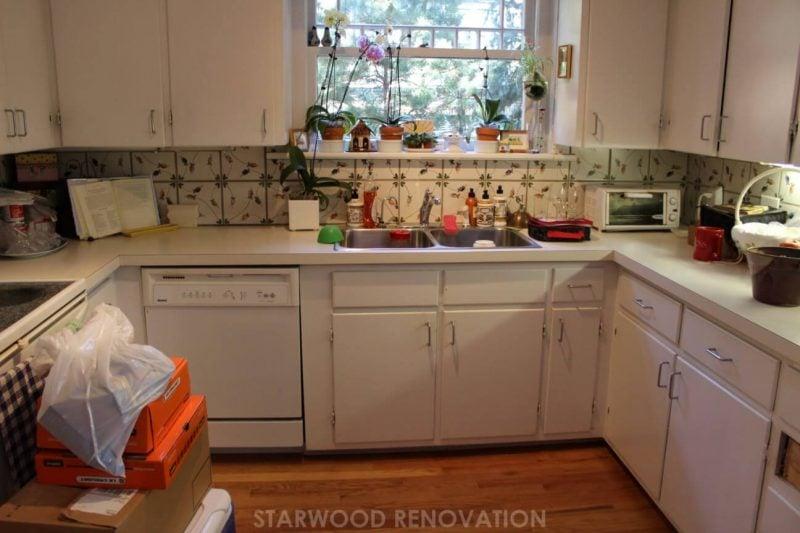 Denver colonial kitchen before remodel