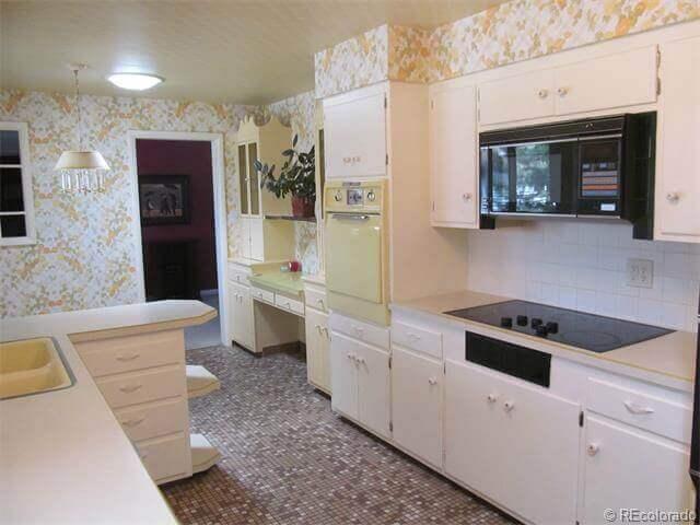 Denver Kitchen Remodel Galley Before