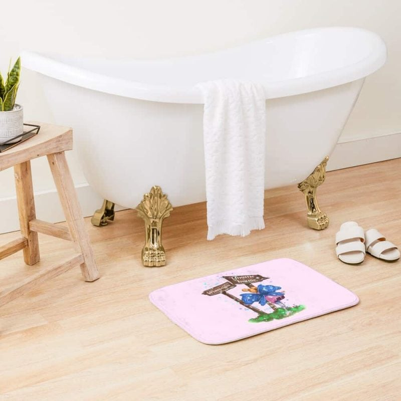 Lilli The Lights And Sign Fairy™ Bath Mat