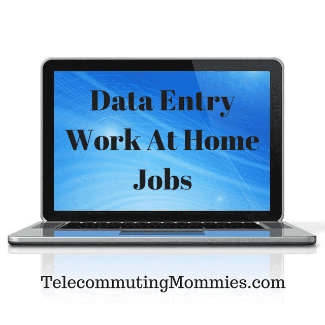 10+ Legitimate Data Entry Work From Home Jobs
