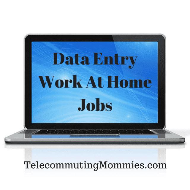 10+ Legitimate Data Entry Work From Home Jobs