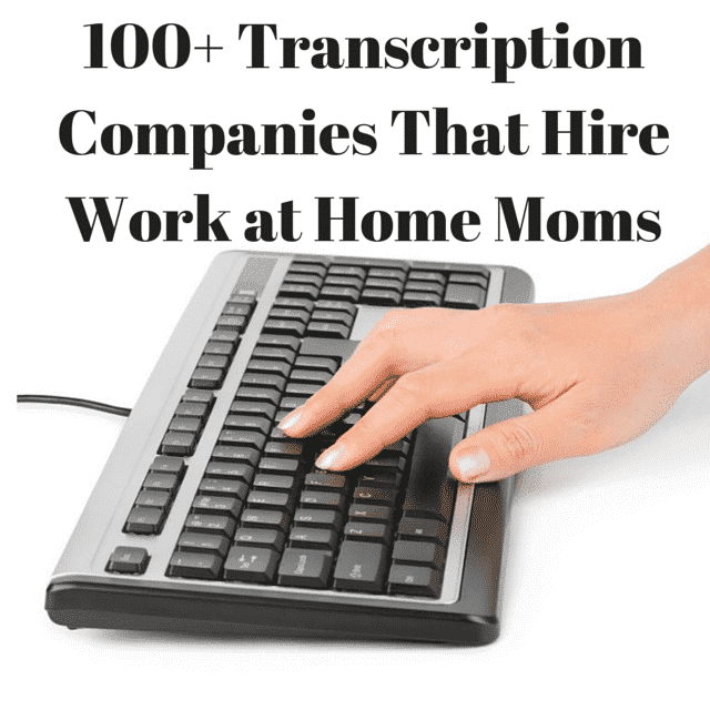 100+ Transcription Work From Home Jobs