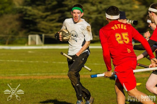 Quidditch Game in the University Parks in Oxford
