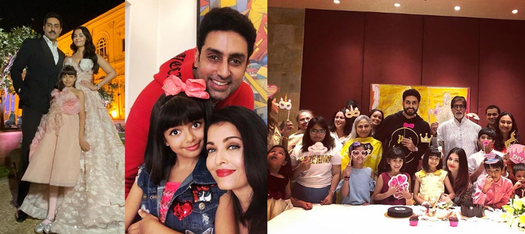 Aaradhya Bachchan celebrated her birthday with family and friends