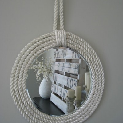 Nautical Rope Mirrors