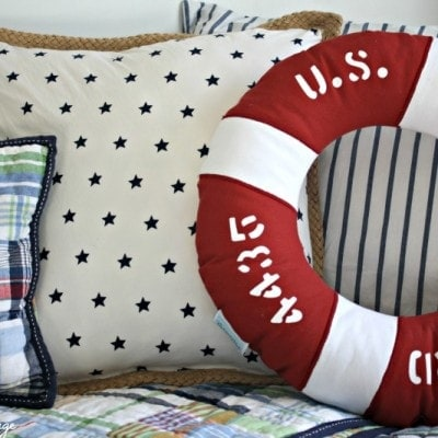 No Sew Pillow Makeover