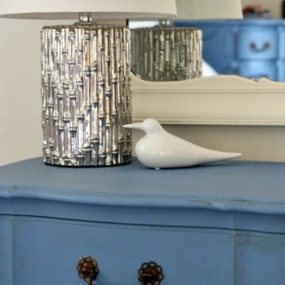 Greek Blue Furniture Makeover and the Cottage that started it all