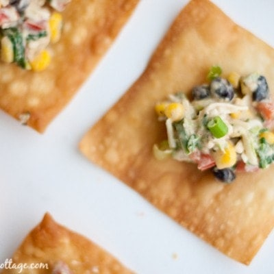 Southwestern Egg Roll Dip – Big Game Appetizers and Giveaway