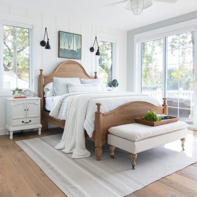Lake House Master Bedroom