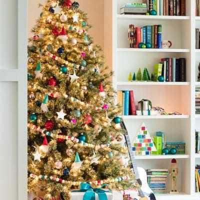Colorful and Fun Kid Christmas Tree
