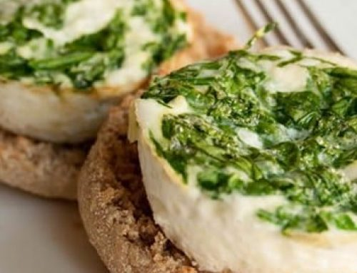 Spinach Feta Egg White Cups