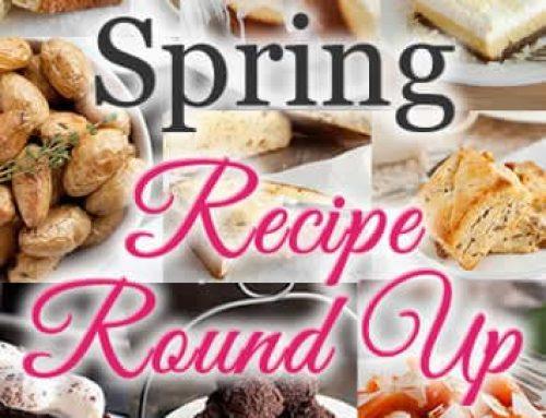 Spring Recipe Round Up