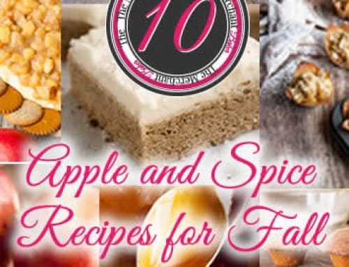 1o Apple and Spice Recipes for Fall
