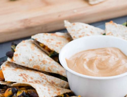 Kale, Sweet Potato, Black Bean Quesadillas