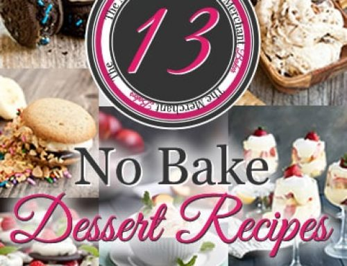 13 No Bake Dessert Recipes