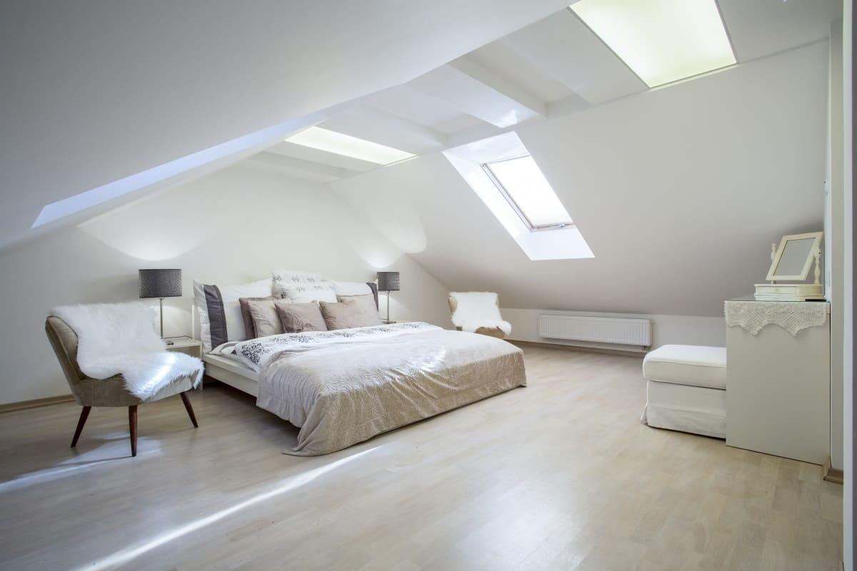 Elektrische vloerverwarming slaapkamer en op zolder