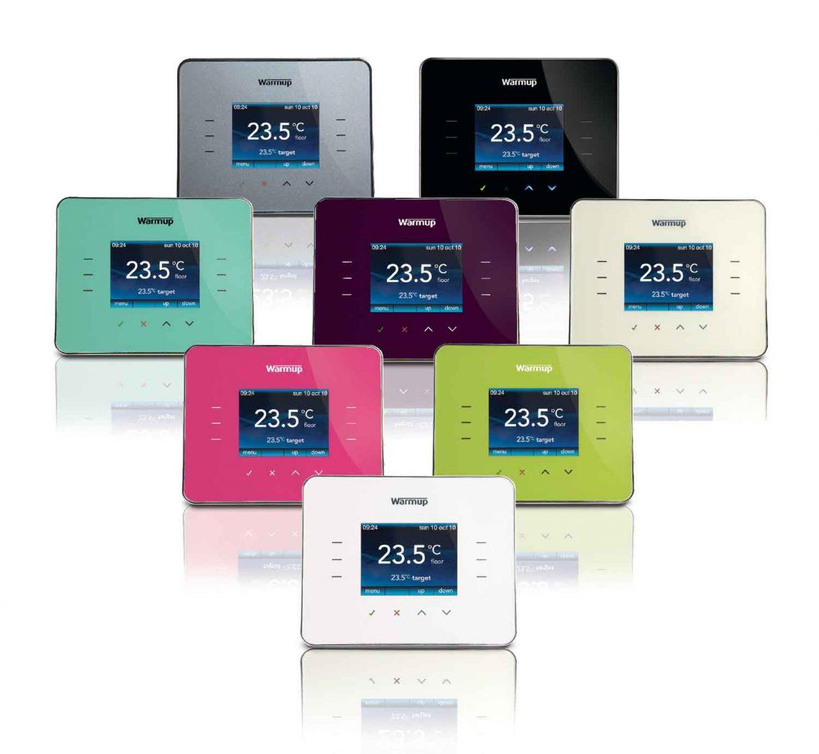 3iE Programmeerbare digitale klokthermostaat van Warmup