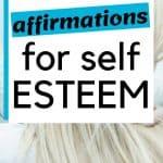 affirmations for self esteem