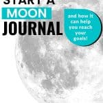 how to start a moon journal