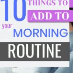 things to add to your productive morning routine