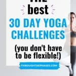 best 30 day yoga challenges