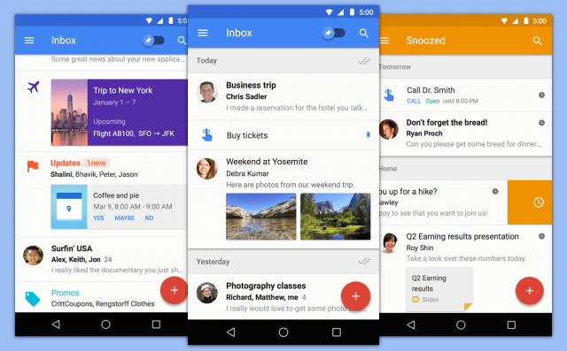 The Best Android Email Client App's 2017