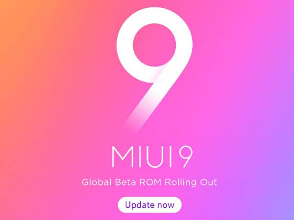 Download MIUI 9 Global Beta ROM 8.3.29 for all Xiaomi Devices