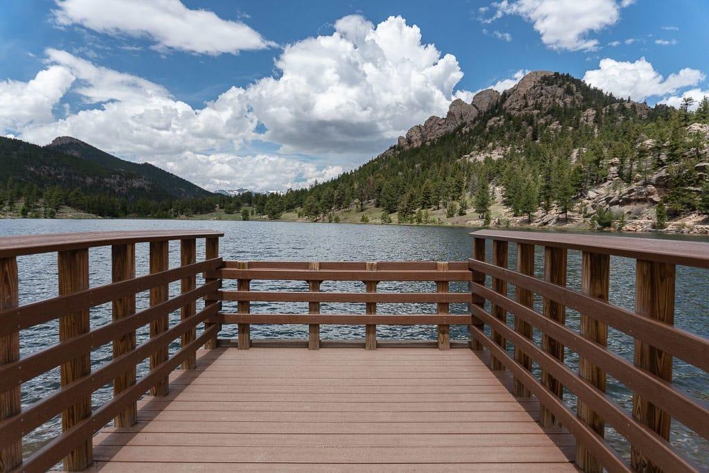 rocky mountain national park lily lake