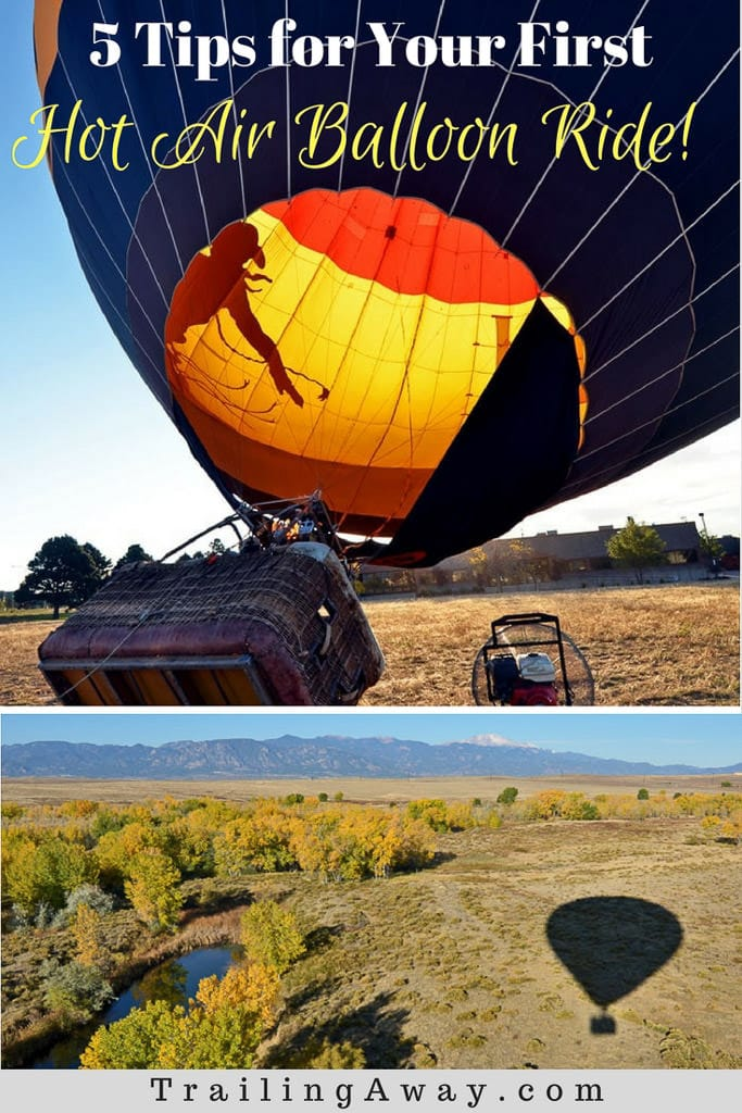 Is riding in a hot air balloon on your bucket list? Check out these five must-read hot air balloon ride tips for first timers before you go up and away. Plus, some gorgeous photos from our epic ride over beautiful Colorado Springs. #rockymountains #colorado #hotairballoon #mountains #coloradosprings