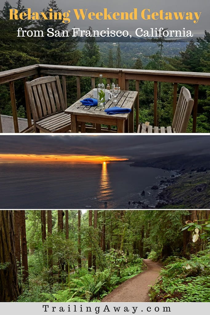 Need a great Weekend Getaway from San Francisco, California? Staying at Mountain Home Inn, located on Mt. Tamalpais near Muir Woods, is the perfect option. #california #muirwoods #sanfrancisco #redwoods #hike