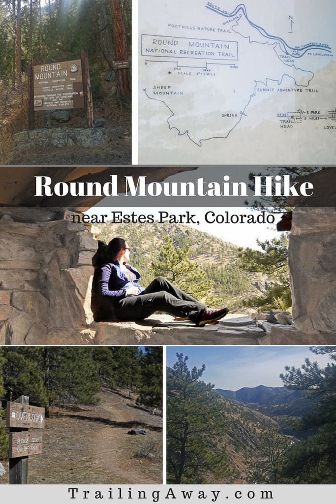 This short trail outside Estes Park is a great alternative to the more popular trails nearby. Trail review of Round Mountain includes photos, details and tips. #rockymountainnationalpark #colorado #hikes #trails #estespark
