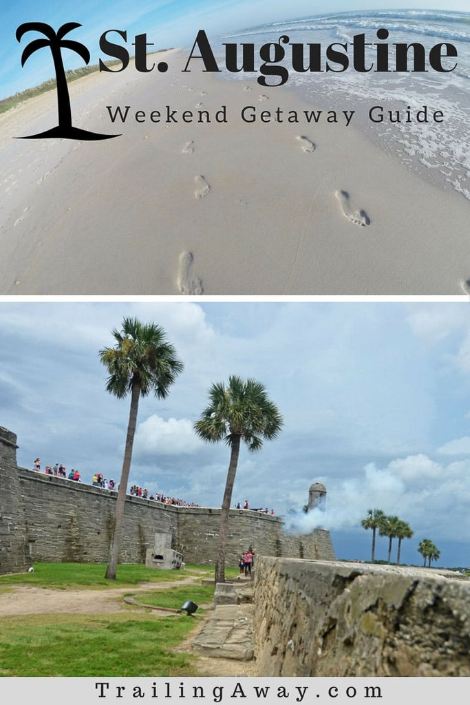 Looking for a fun weekend trip near North Florida? This St. Augustine Weekend Getaway Guide will give you all the information you need! Don\'t forget the gourmet ice pops at Hyppo! #getaway #staugustine #florida #historic #beach