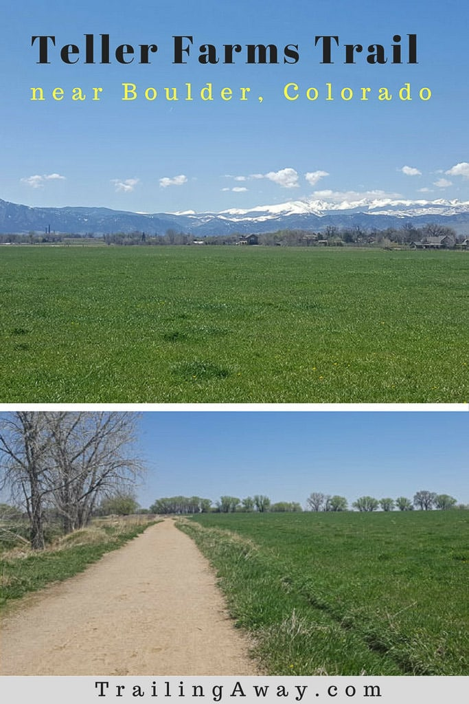 Walking or bicycling on Teller Farms Trail near Boulder, Colorado, is the perfect weekday escape. Trail review includes photos, details and tips. #colorado #hike #boulder #denver #trails