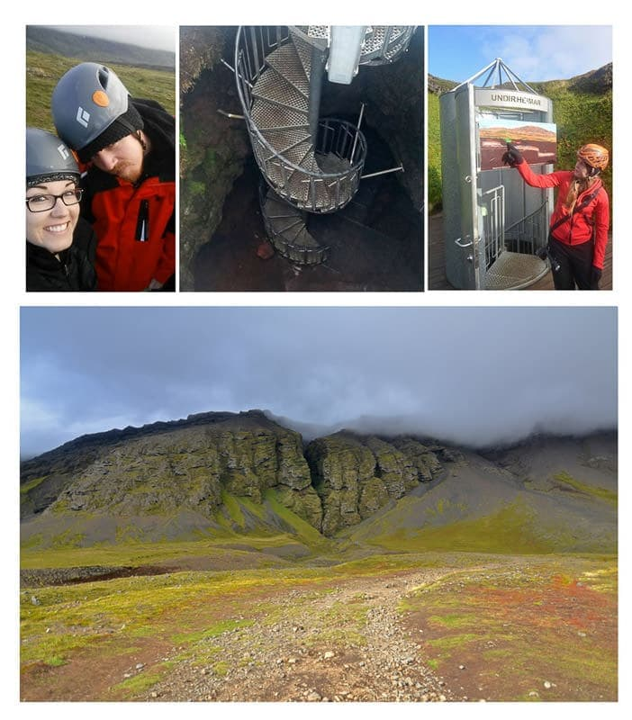 iceland cave tour and hike