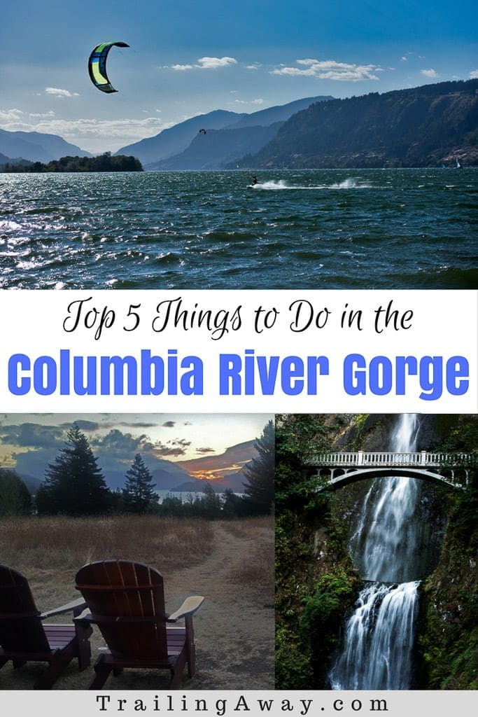 Add these top 5 things to do in the Columbia River Gorge to your bucket list - from chasing waterfalls to whitewater rafting! #washington #oregon #columbiarivergorge #whitewater #rafting #waterfalls