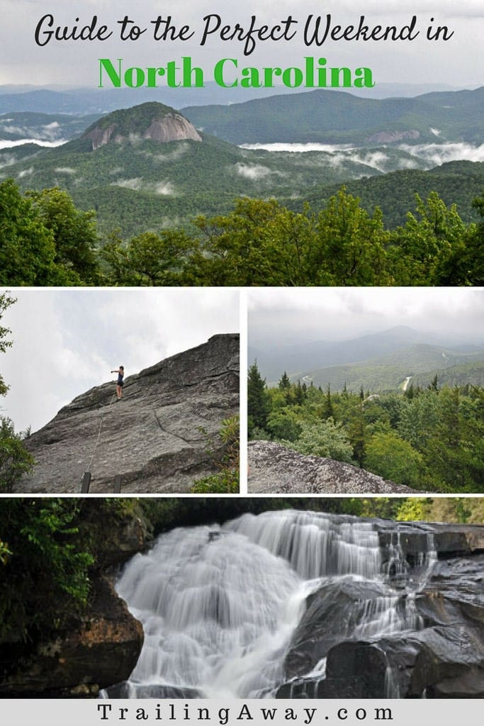 From waterfalls to gorgeous hikes, check out this guide to the perfect weekend in North Carolina in the Blue Ridge Parkway & Grandfather Mountain areas. #waterfalls #northcarolina #grandfathermountain #blueridgeparkway #mountains