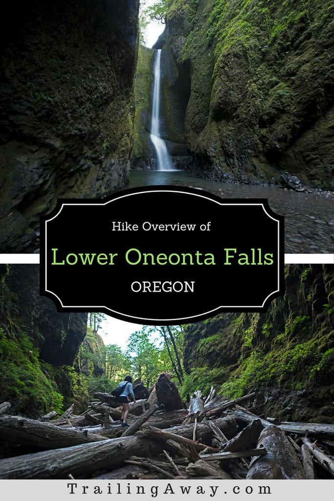 Scrambling & Shivering to Oregon\'s Lower Oneonta Falls