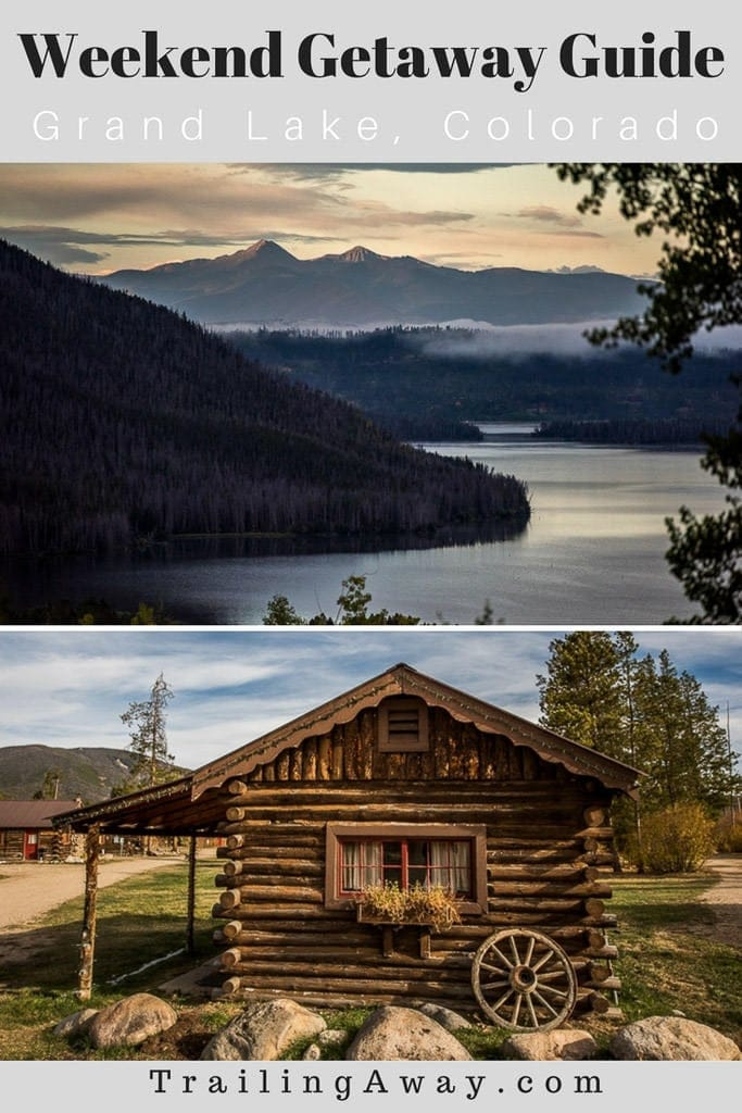 A weekend in Grand Lake, Colorado - right outside Rocky Mountain National Park - is the perfect escape from city life! Read our getaway guide to start planning now. #colorado #rockymountainnationalpark #grandlake #estespark #mountains