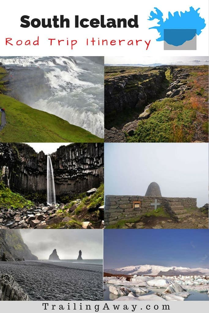 Itinerary, tips and lots of photos from our four-day South Iceland campervan road trip - including the Golden Circle, black sand beach, Skaftafell & the glacier lagoon. And, of course, TONS of waterfallls!!! #iceland #campervan #roadtrip #vik #blacksandbeach #goldencircle