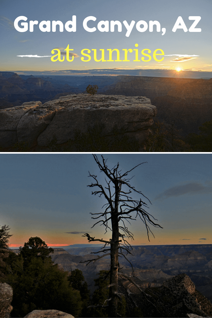 How can you make the most of a short visit to the iconic and beautiful Grand Canyon National Park? Check it out at sunrise! #nevada #grandcanyon #bucketlist #nationalpark #arizona