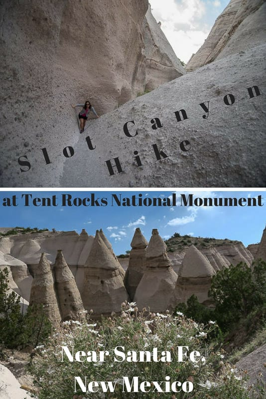 Planning a trip to New Mexico? The slot canyon hike at Kashu-Katuwe Tent Rocks National Monument exemplifies everything great about the \