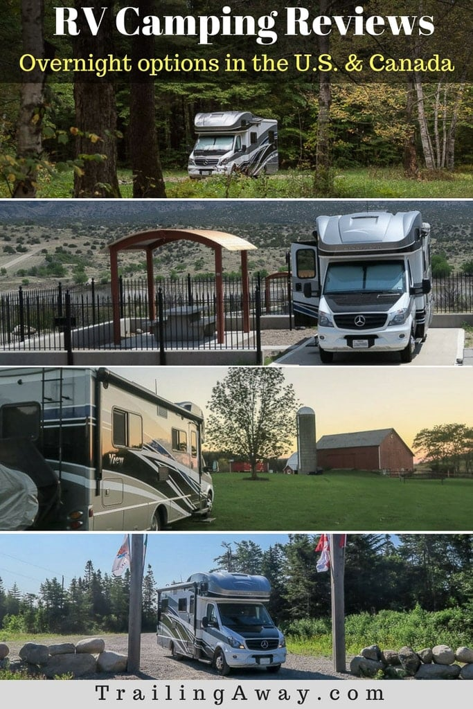 Check this page for RV camping reviews (from parks to boondocking) in the U.S. & Canada, organized by state/province and updated regularly.