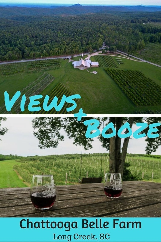 We stumbled upon a little piece of heaven at Chattooga Belle Farm in South Carolina - complete with gorgeous scenery, tasty drinks and great company! Restaurant, Winery, Farm, Distillery … this place has it all! #southcarolina #harvesthosts #chattoogabelle #farms #distillery #winery