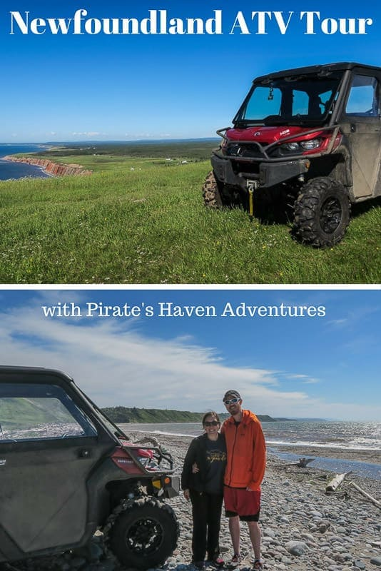 Newfoundland ATV Tour with Pirate\'s Haven Adventures