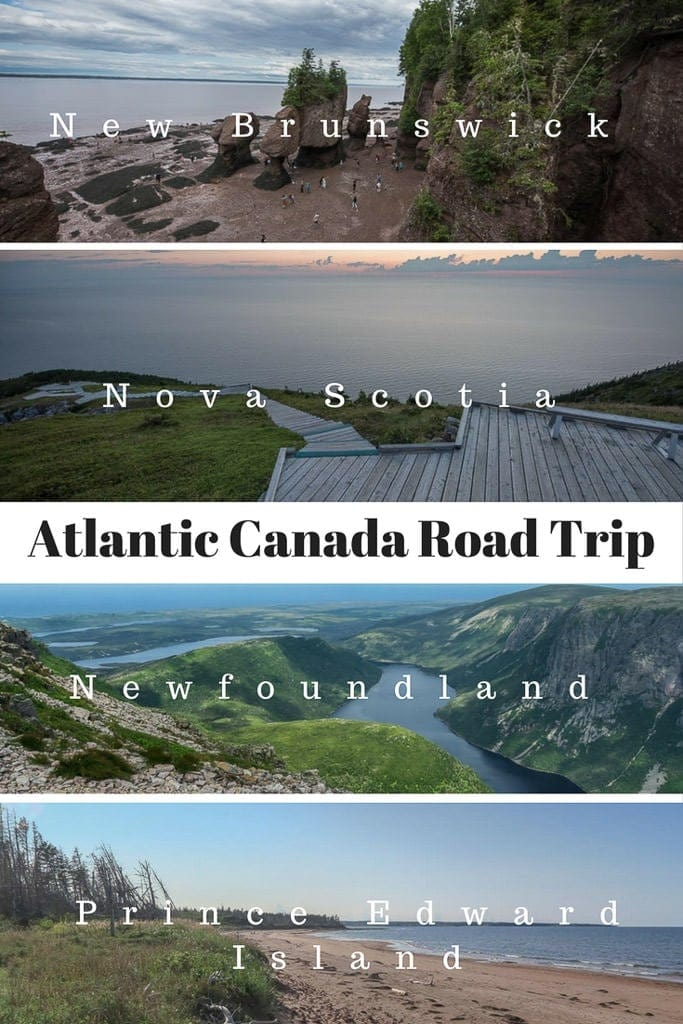 Canada\'s eastern-most provinces are each bucket-list worthy destinations, so we embarked on an epic nine-week Atlantic Canada RV road trip to see them all - New Brunswick, Nova Scotia, Newfoundland & Prince Edward Island. #canada #roadtrip #atlanticcanada #novascotia #PEI #newfoundland #newbrunswick #nationalparks