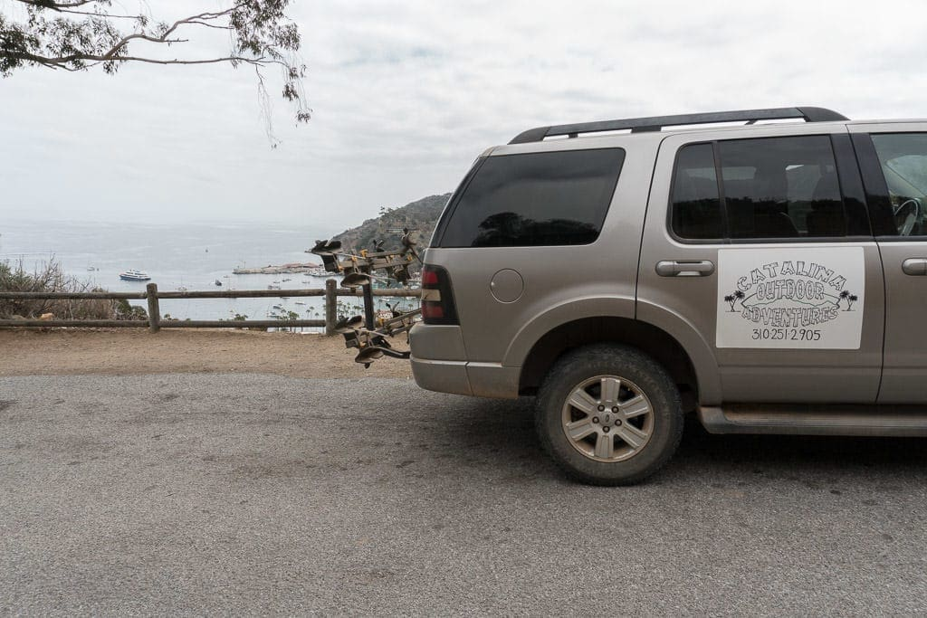 Catalina Outdoor Adventures Tour SUV